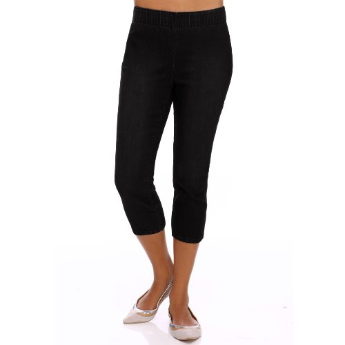 Cropped denim leggings by miraclebody jeggings for women over 40