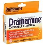 J&J Dramamine Tablets - 50Mg - Model 89426 - Box Of 36 front-640034