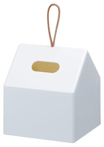 Like-it ロールティッシュペーパーボックス HOME ホワイト RP-01