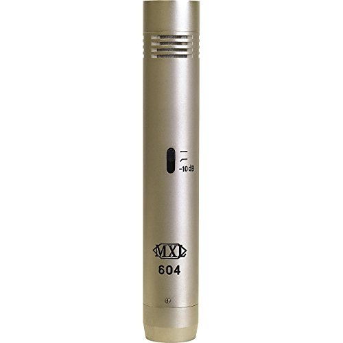 Mxl 604 Condenser Instrument Microphone Includes A Cardioid And An Omni Directional Capsule