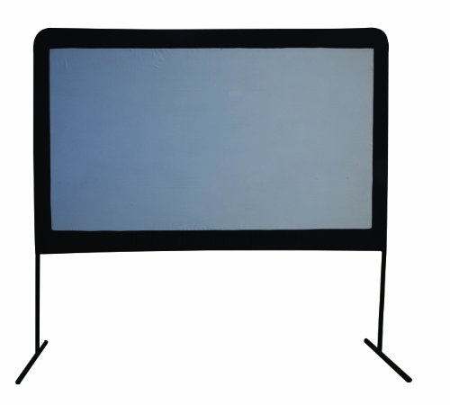 Camp Chef 120Inch Portable Outdoor Movie Theater Screen Picture