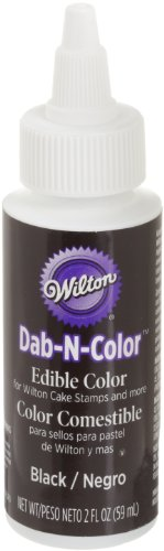 Wilton Black Dab-N-Color Edible Color