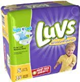 Luvs Ultra Leakguards Size 5 Diapers - 25 CT