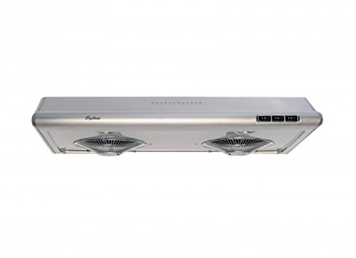 Cyclone CY1011R-SS 680CFM High-Powered Under-Mount Range Hood, Classic Collection, Stainless Steel, 30