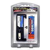 トップランド ガム型乾電池用 電池&充電器セット M-186