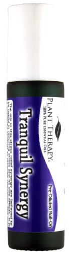 Tranquil Synergy Pre-Diluted Essential Oil Roll-On 10 ml (1/3 fl oz). Ready to use!
