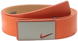 Nike Golf Men's Sleek Modern Plaque, Turf Orange, 34