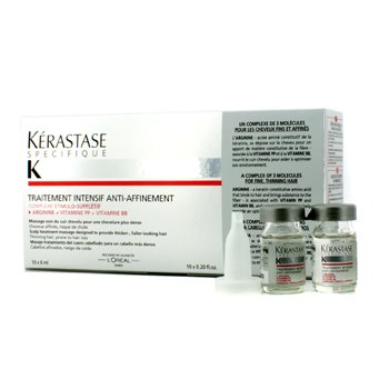 Kerastase Specifique Intensive Scalp Treatment (For Thinning Hair, Prone to Hair Loss) 10x6ml/0.2oz