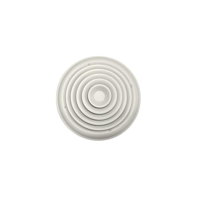 Speedi Grille Round Ceiling Vent Register Cover Adj  Bowtie