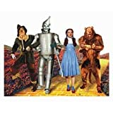 Wizard of Oz Mini Diecut for Scrapbooking - Four Characters on Yellow Brick Road