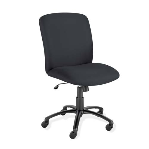 """O Safco Products Company O - Executive Chairs,High-Back,27""""X30-1/4""""X40-3/4-44-3/4"""",Bk front-1039313"""