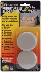 MAS87003 - Mighty Movers Self-Adhesive Furniture SlidersB00006IS38