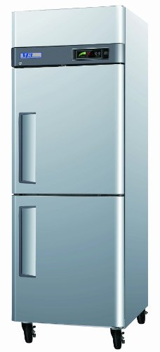 half door Freezer, Reach-in, one-section, 24 cu. ft.
