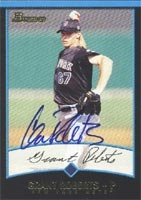 Grant Roberts Norfolk Tides - Mets Affiliate 2001 Bowman Autographed Hand Signed... by Hall of Fame Memorabilia