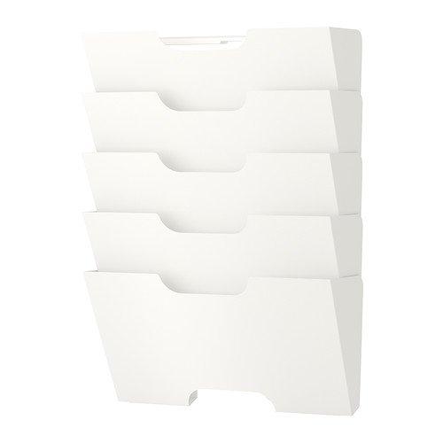 IKEA(イケア) KVISSLE 40198018 ウォール 新聞ラック, ホワイト