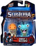 Slugterra Mini Figure 2-Pack Rocky & Buzzsaw [Includes Code for Exclusive Game Items]