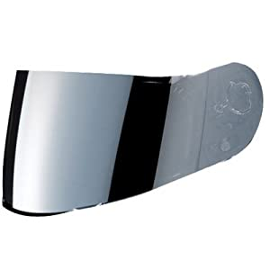 HJC AC-12/CL-SP/CL-15/CL-16/FS-10/IS-16/CS-R1/CS-R2 Motorcycle Helmet Replacement Faceshield Mirror-Coated Silver by HJC