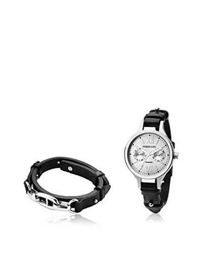 Dyrberg/Kern Reloj de cuarzo Woman Tf Prominent Sl 4S2 + Tarpan Ss Black Negro / Plateado 36 mm