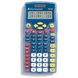 TI-15 Explorer Calculator
