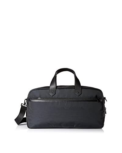 Emporio Armani Men's Duffel Bag, Black/Nero/Blu Notte