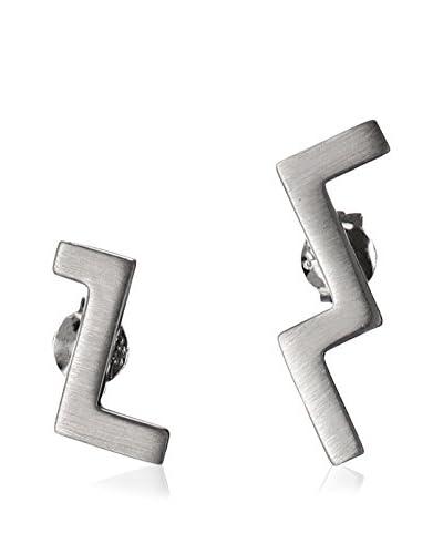 Elizabeth and James Maru Silver-Tone Stud Earrings As You See