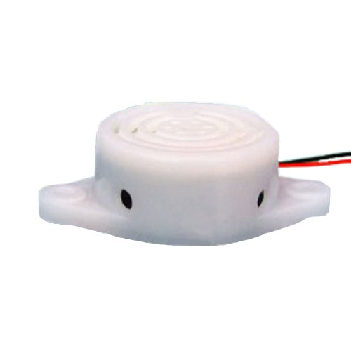 Generic Pack Of 150Pcs Electronic Active Piezo Electric Buzzer Dc 12V 95Db 3000Hz Continuous Tone Alarm Speaker White Case