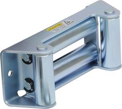 Images for Smittybilt 97281-47 Zinc Plated Winch 4-Way Roller Fairlead