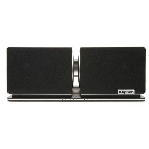 Klipsch Stadium 2.1 Home Music System With Airplay (Aluminum/Black)