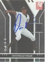 Dontrelle Willis Florida Marlins 2004 Donruss Elite Autographed Hand Signed Trading... by Hall+of+Fame+Memorabilia