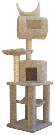 Premium Carpeted Cat Tree