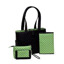 Sprout Classic Tote Set, Black