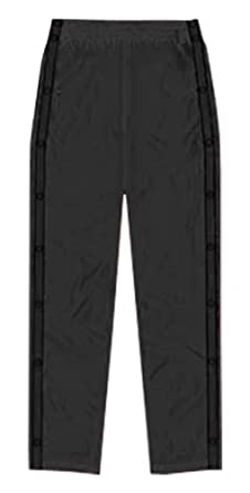 Buy Alleson Basketball Dazzle Breakaway Warm-Up Pants BK - BLACK A2XL by Alleson Athletic
