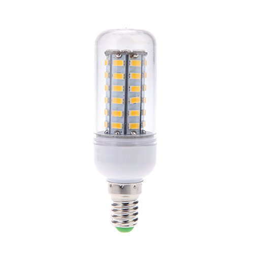 Docooler E14 10W 5730 Smd 48 Leds Corn Light Lamp Bulb Energy Saving 360 Degree White 220-240V