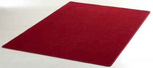 Designer Teppich Nasty Floor   Kurzflor Rot, Größe:200×300