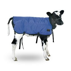 "Double-Insulated Calf Blanket - 29-1/2"" L X 28-1/2"" W, Blue front-57226"