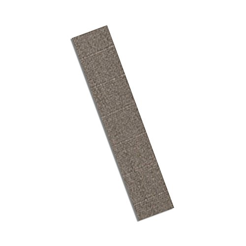 """Tapecase 3M Cn3490 1"""" X 5""""-100 Gray Non-Woven Conductive Fabric Tape, 5"""" Length, 1"""" Width, Rectangles (Pack Of 100)"""