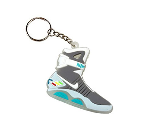Air Mag Back To The Future Sneaker Chicago Bulls AJ 23 Keychain Keyring