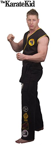The Karate Kid DELUXE Cobra Kai Mens Replica Gi Costume (X-Large)
