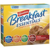 Carnation Instant Breakfast Powder, Dark Chocolate, 10 pk