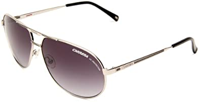 Carrera Master 2/S Aviator Sunglasses,Shiny Silver Frame/Grey Gradient Lens,One Size