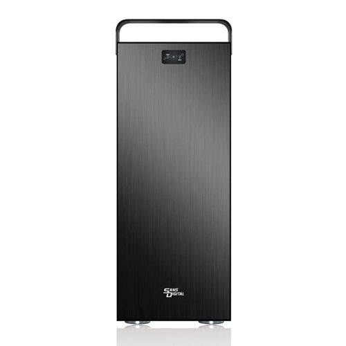Sans Digital Mobilestor Ms12X6+B - 12 Bay Sata/Sas To 6G Sas Expander Jbod Enclosure - Black (St-San-Ms12X6+B)