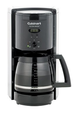 Cuisinart Coffee Maker Filter Instructions : Cuisinart DCC-1000BK Filter Brew 12-Cup Programmable Coffeemaker, DCC1000 Black www.cafibo.com
