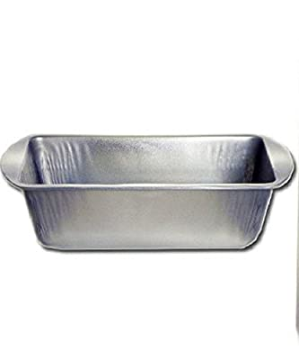 "Large Loaf Pans Non-stick Bread Loaf Metal Bakeware Oven Baking Pan Meatloaf Cake Banana Bread 8.4"" X 4.4"" X 2.7"" 1 Pcs"