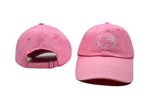 Further-Unisex-Adjustable-Fashion-Leisure-Baseball-Hat-Hello-kitty-Snapback-Cap