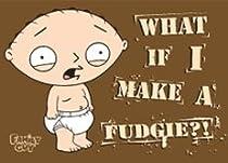 Family Guy Stewie Fudgie Magnet FM2055