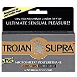 Trojan Supra Non Latex Condoms
