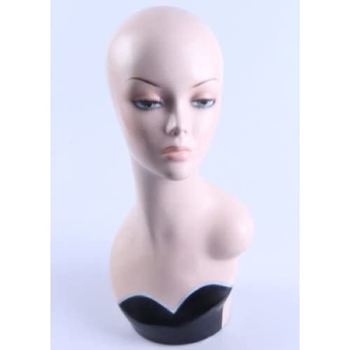 New Female Mannequin Head Display Bust For Jewelry, Wigs and Hats ZLXTT3
