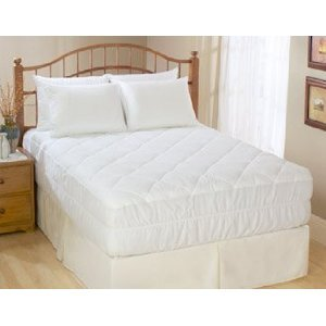 Waterproof Quilted Mattress Pad Fitted 33