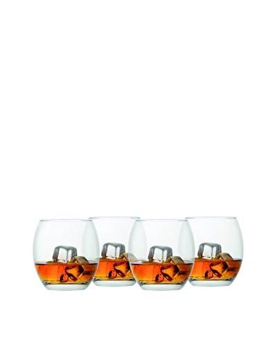 Style Setter Set of 4 Abigail 13.75 Stemless Glasses