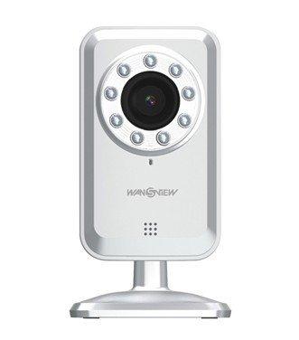 Wansview NCS601W Cloud network wireless ip camera, Plug & play IR built-in mircrophone webcam Night View